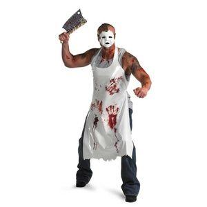 Men's Bloody Butcher Halloween Costume